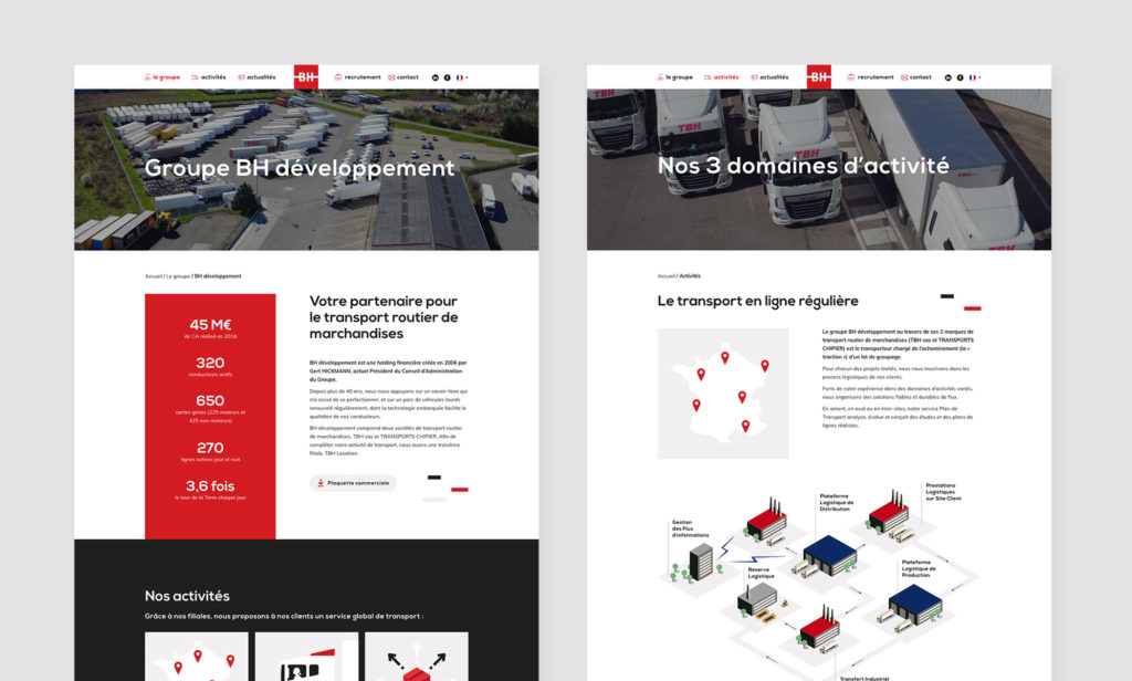 Vues du site BH développement