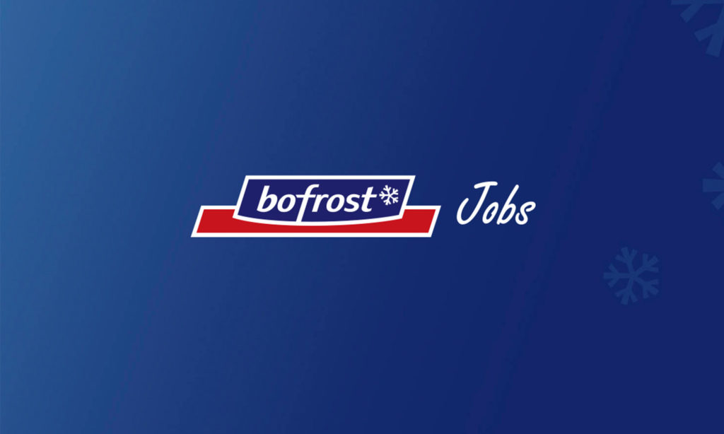 Logo bofrost* Jobs sur fond sombre