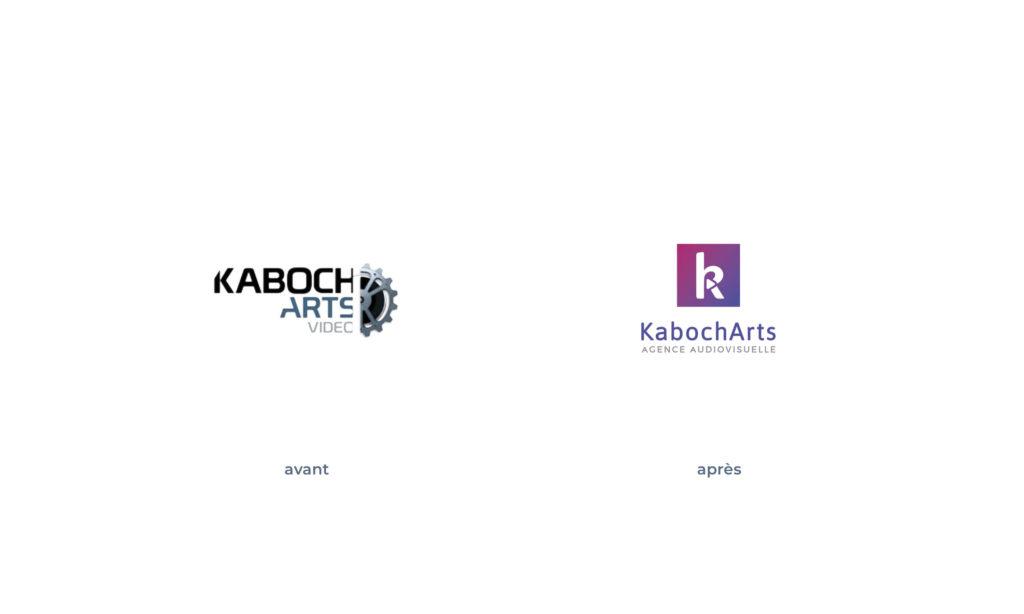 Logo KabochArts avant/après