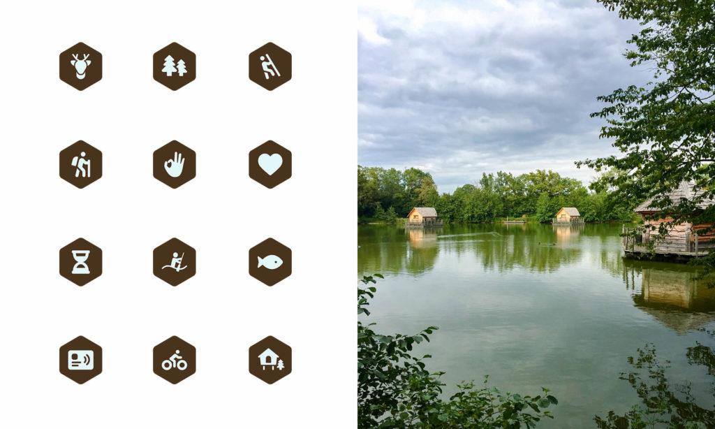 Icônes Domaine de la Dombes