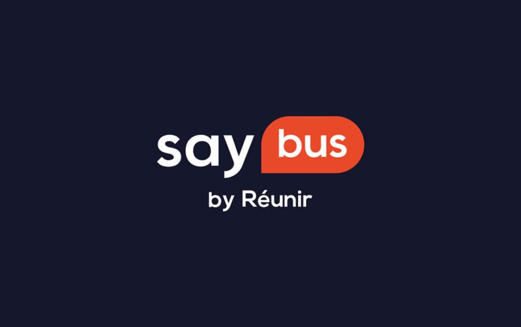 Logo Saybus sur fond sombre