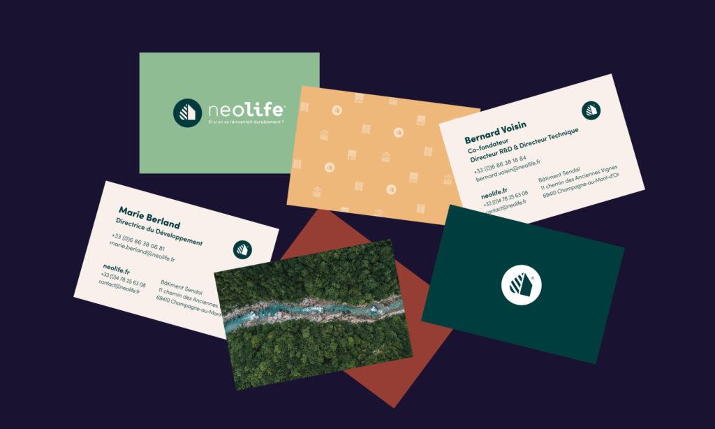 Cartes de visite Neolife